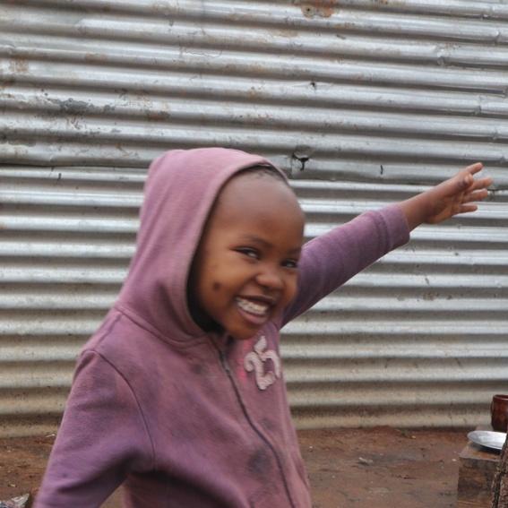 Ein Lächeln aus Tansania