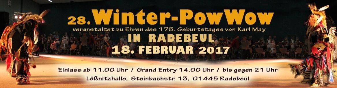 28.Winterpowwow Indianisches Tanzfest in Radebeul