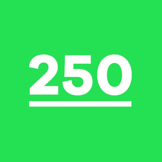 250 Sticker
