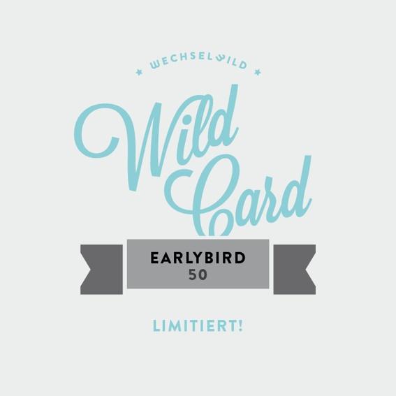 Earlybird-Gutschein im Wert von 60 Euro! (limitiert!)