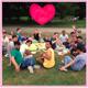 Gemeinsames Picknick im Grünen