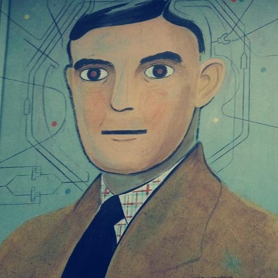 Robert Deutsch: Turing (signiert) + Überraschungsbuch