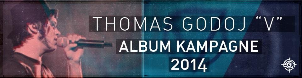 """THOMAS GODOJ - ALBUM """"V"""" 2014"""
