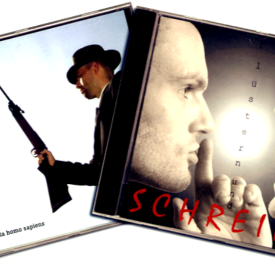 "Super rare COR-Scheiben ""Viva la Homosapiens"" (CD 2002) + ""Flüstern und Schreien"" (CD 2003) + DVD ""cuba COR libre"""