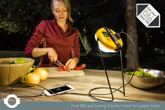 GloW yaMbao - The Social BBQ Gadget