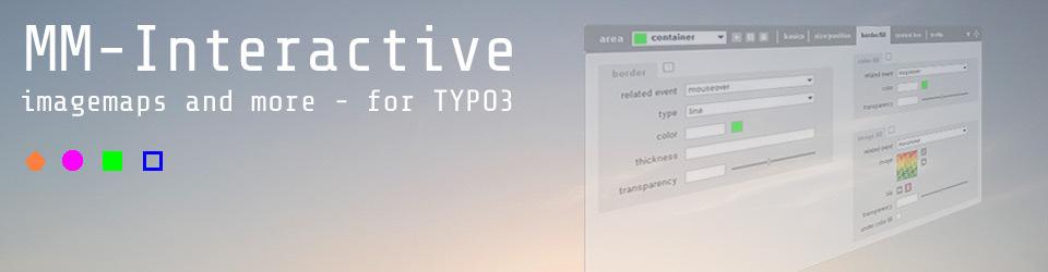 """TYPO3 extension """"MM Interactive"""" für verbesserte Imagemaps"""