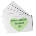 Personalisierte 15% Rabatt-Karte