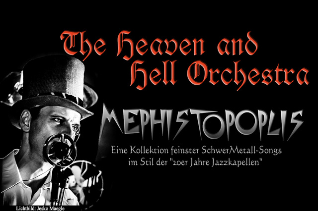 THE HEAVEN AND HELL ORCHESTRA CD - Mephistopolis