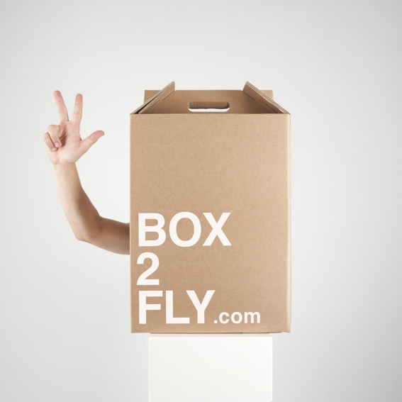three BOX2FLY incl. shipping