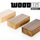 3 große Woodkid-Holzbausteine