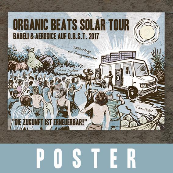 Das Plakat zur Tour