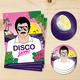 Funky Sticker und Postkarten