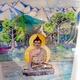 ISARINDIAN PAINTING Alpine Budhha  100 : 70 im Rahmen die neue CD und alle anderen lieferbaren Willy Michl CDs