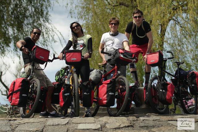 Guts for Change - Fahrradtour für einen guten Zweck