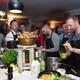 Drei-Gänge-Menü mit Gourmet Koch Thomas Sampl und dem Team