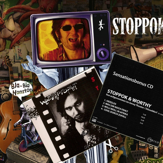 Stoppok - CD Paket (Extrem RAR & handsigniert)