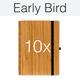 10 x Bambus - inkl. Logo oder Individualisierung, Weihnachtsgarantie
