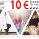 10 Euro Einkaufsgutschein für unseren Online Shop