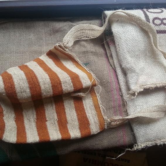 Original Kogi-Tasche aus dem Dorf von Máma José Gabriel