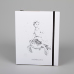"""Below sealevel"" (black/ white carton) – Swiss Brochure"