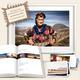 MAROKKO DELUXE EDITION - Titelmotiv. Signiertes Buch, gerahmtes Bild (50x75 cm) & zwei Kartensets. Deutschlandweit frei Haus!