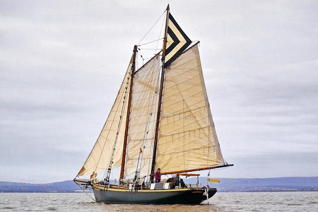 Whydah, das neue Jugendsegelschiff der bündischen Jugend