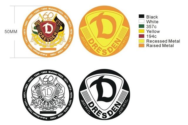 SG Dynamo Dresden Geocoin