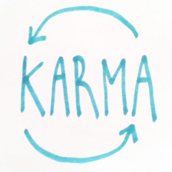 gut für`s Karma