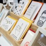 6 Letterpress-Karten