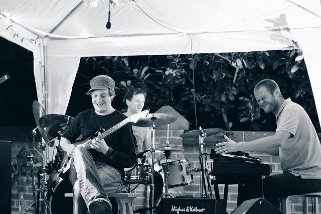 Live DVD Produktion der Funk - Fusion Band