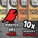 MONSTER BIRD Pack 10x Wunschsorte (160 Riegel)