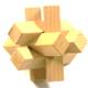 Zauberwürfel aus Zirbenholz