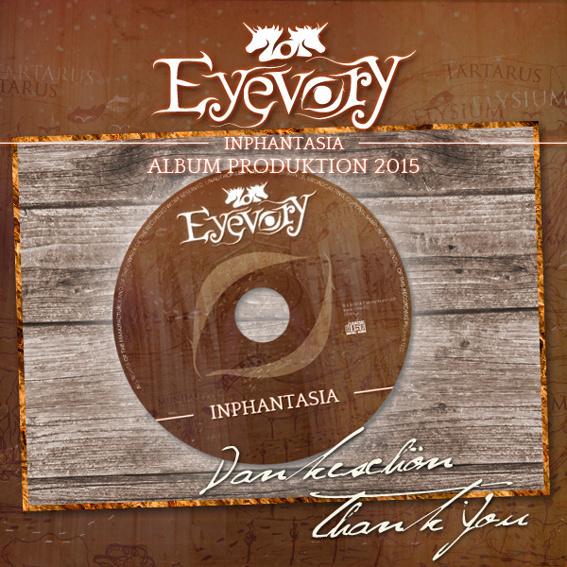 """CD """"Inphantasia"""" + Widmung"""