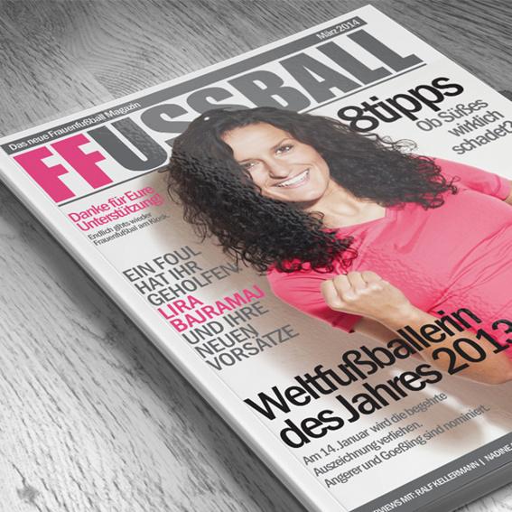 Die erste Ausgabe für Österreich und die Schweiz