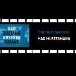Platinum-Sponsor / Name im Abspann