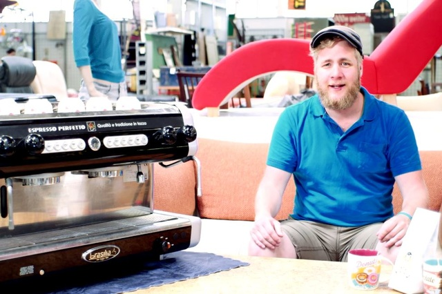 Jochens Café - eine Kaffeemaschine für einen Traum