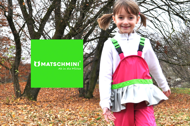MATSCHMINI® ... die erste Matschhose mit Rock