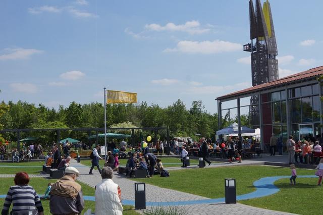 Regionalparkportal: Sanierung und Erweiterung