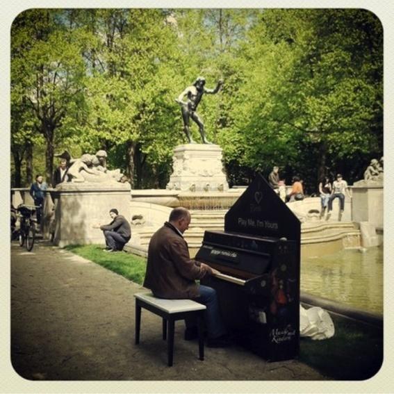 kinderkunsthaus Klavier