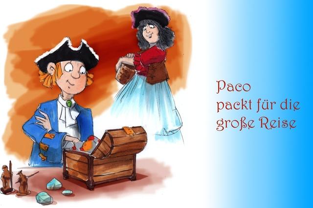 Paco, der kleine Pirat