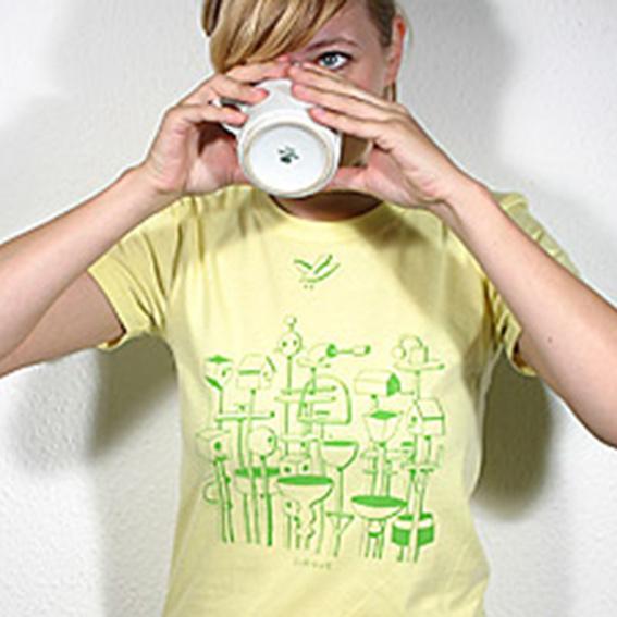 The Whitest Boy Alive T-Shirt - Women L (Selbstabholer)