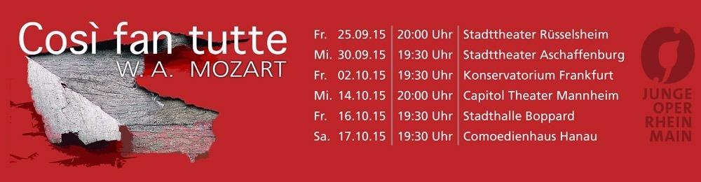 Così fan tutte - Junge Oper Rhein-Main