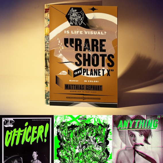 Signed RARE SHOTS book and a silkscreen print of your choice