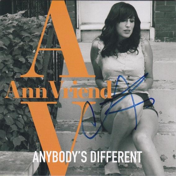 Ann Vriend - signierte CD