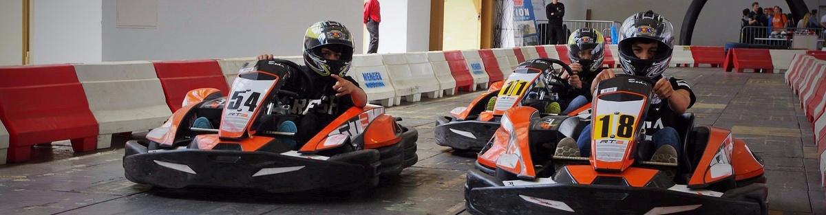 Eine Kartbahn für Kinder & Jugendliche