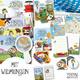 Großes Pinipa Fan-Set, 4 Bücher + Fan-Material