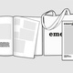 emerge Printmagazin Nr. 1 + Tragetasche + Namensnennung auf Danke-Seite