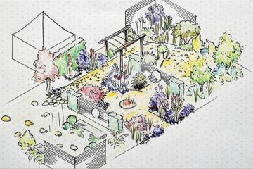 Endometriosegarten - Medizin meets Gartenkultur