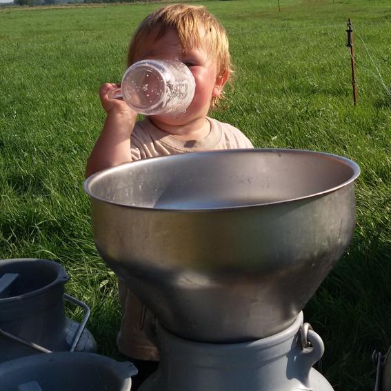 Trink Milch, so viel du schaffst