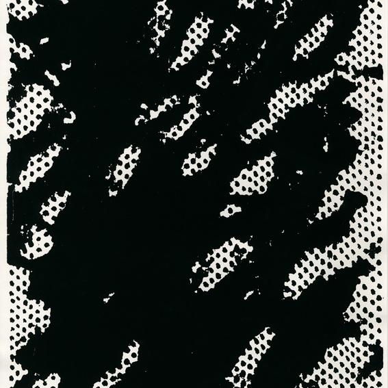 Druckgraphik/ Siebdruck von Johannes Regin